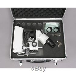 10X-20X-30X-60X Binocular Stereo Microscope + Aluminum Carrying & Storing Case