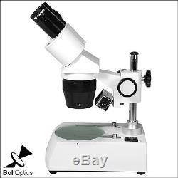 10X/30X HH Dual Illuminated Light Binocular Dual Power Stereo Microscope