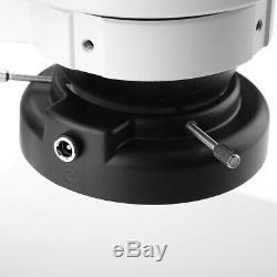 1Pc 7X-45X Binocular Stereo Zoom Microscope Kits WF10X/20 Eyepieces 100-240VAC