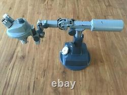 2 Bausch & Lomb Stereo Zoom Microscopes 0.7X 3X With Articulated Boom & Stand