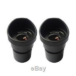 20X-30X-40X-45X-60x-80X Illuminated Binocular Stereo Microscope w Halogen Lamp