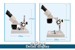 20X-30X-40X-60X-80X Industrial Binocular Stereo Microscope PCB Inspection Tool