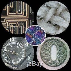 20X 40X 360 Degree Rotatable Binocular Stereo Microscope F PCB Repairing WithLight