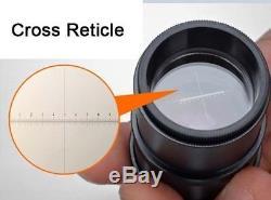 20X-40X Binocular Stereo Microscope with Cross Reticle Scales 0.1mm WF10X Eyepiece