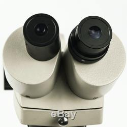 20x-40x-80x Stereo Microscope 360 Rotatable Binocular Head Working Distance 90mm