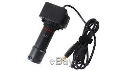 20x-40x Digital Stereo Microscope Binocular head with 5.0MP USB Camera Ring Light