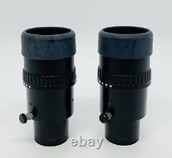 25x/9.5B Wild / Leica 445302 Stereo Microscope Binocular Eyepieces 30mm (PAIR)