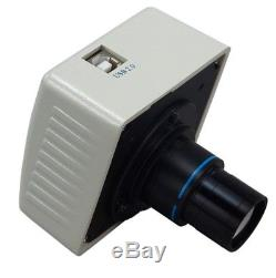 3.5X-90X Binocular Stereo Zoom Microscope with Dual Lights +1.3MP USB Camera