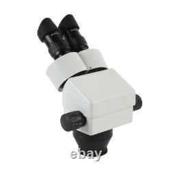 3.5X-90X Continuous Zoom Binocular Stereo Microscope With Led Light For Phone Mo