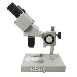 40X Binocular Stereo Microscope Professional Lab Industry Inspection Microscope