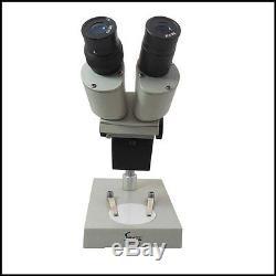 40x-60x Binocular Stereo Microscope with WF10X and WF15X Eyepiece PCB Inspection