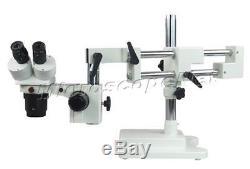 5X-10X-20X-30X-60X Dual-Bar Boom stand Multi-power Binocular Stereo Microscope