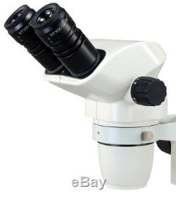 6.7X-45X Binocular Zoom Stereo Microscope with Large Light weight Metal Stage