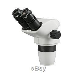 6.7X-45X Ultimate Parfocal Binocular Stereo Zoom Microscope Head