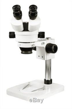 7-45X Stereo Zoom Microscope Binocular Lab Industry Soldering Microscope