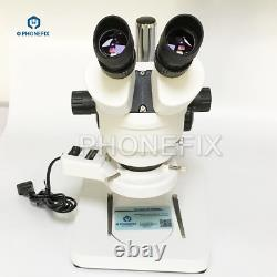7X 45X Binocular Stereo Microscope Stereo Zoom Continuous Zoom Magnification M