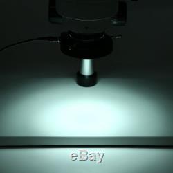 7X-45X Binocular Stereo Zoom Microscope WF10X/20 Eyepieces 100-240VAC JS