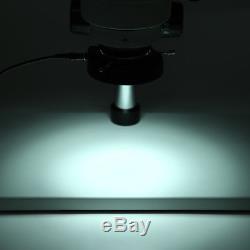 7X-45X Binocular Stereo Zoom Microscope WF10X/20 Eyepieces 100-240VAC RH