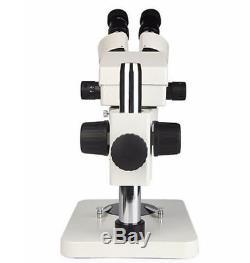 7X-45X Binocular Zoom Stereo Microscope Industry Soldering Watch Phone Repair