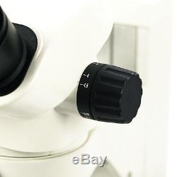 7X-45X Boom Stand Binocular Zoom Stereo Microscope