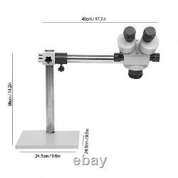 7X-45X Continuous Zoom Binocular Stereo Microscope For Jewelry Setting Processin