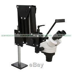 7X-45X Multi-direction Binocular Darkfield Stereo Microscope for Gem and Jewelry