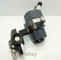AMERICAN OPTICAL 569 Stereo Zoom Microscope Focus Holder 10XWF EYES 30X MAG #192