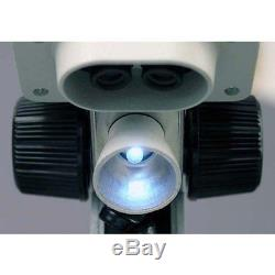AMSCOPE-KIDS 100X-LED Portable Binocular Stereo Microscope, WF5X and WF10x 10X