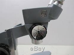 AO Spencer Stereo Zoom Microscope Binocular 2 Eyepiece Lab Unit American Optical