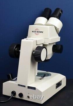 Accu-Scope 3061 Zoom Stereo Microscope 7X-35X Never Used