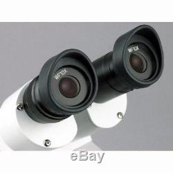 AmScope 10X-20X-30X-60X Widefield Sharp Binocular Stereo Microscope SE303-PZ