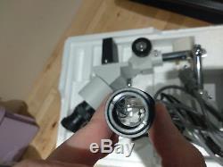 AmScope 10X-20X LED Binocular Stereo Microscope Boom Arm