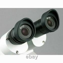 AmScope 20X-40X Binocular Stereo Microscope Metal Pillar Stand Multi-Use