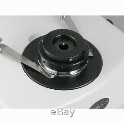 AmScope 3.5X-45X Jewelry Gem Stereo Microscope + Dual Halogen