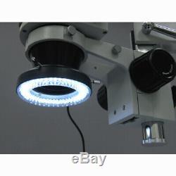 AmScope 3.5X-90X Circuit Zoom Stereo Microscope + 144-LED + 10MP Camera