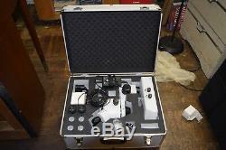 AmScope 3.5x-90x Zoom Trinocular Stereo Microscope plus extras