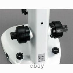 AmScope 8X-120X Large Clear Depth Common Main Objective (CMO) Stereo Microscope