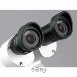 AmScope SE306R-PZ Forward Binocular Stereo Microscope, WF10x and WF20x Eyepieces