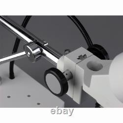AmScope SE400-LED 10X Binocular LED Stereo Microscope Boom Arm with Gooseneck