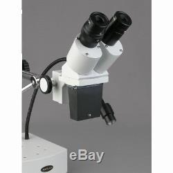 AmScope SE400-Z Professional Binocular Stereo Microscope, WF10x and WF20x Eyepie