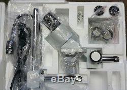 AmScope SE400Z 10X-20X Binocular Boom Arm Stereo Microscope + Light