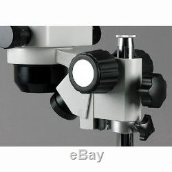 AmScope SH-2BY-C2 10X-60X Stereo Zoom Binocular Microscope + Dual Halogen
