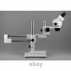AmScope SM-4B Professional Binocular Stereo Zoom Microscope, 7x-45x WH10x Eyepi
