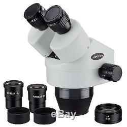 AmScope SM790B 7X-90X Binocular Zoom Power Stereo Microscope Head