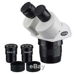 AmScope SW24B 20x-40x Super Widefield Stereo Binocular Microscope Head