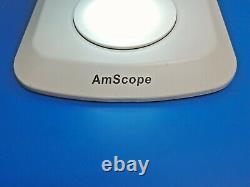 AmScope Stereo Microscope WF10/20 Eyepiece, Illuminator LED-56A. 7 to 4.5