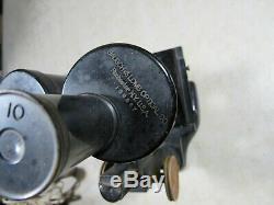 Antique Bausch & Lomb Binocular Stereo Microscope