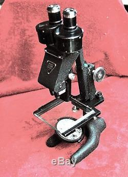 Antique Stereoscopic stereo binocular microscope Bausch & Lomb No Reserve
