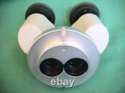 BINOKULARTUBUS ZEISS OPMI Mikroskop Stereomicroscope BINOCULAR TUBE HEAD f13/80