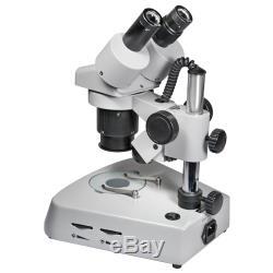 Barska 20x, 40x Binocular Stereo Microscope with Head Rotates 360 Lab, AY11228